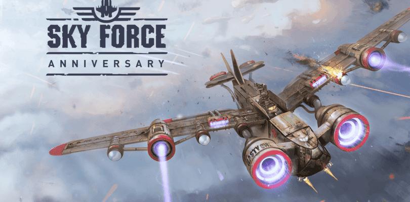 Sky Force Anniversary tendrá formato físico en PlayStation 4 y PS Vita