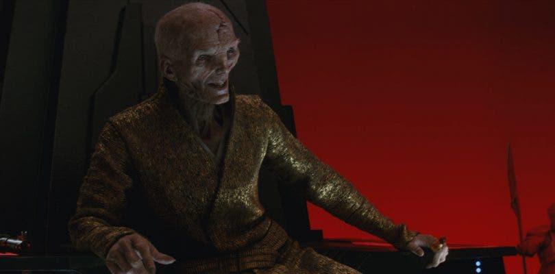 Andy Serkis insinúa el regreso de Snoke en Star Wars: Episodio IX