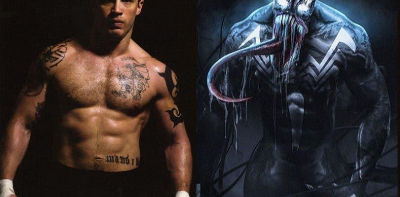 La primera imagen de Tom Hardy como Venom llegará esta semana