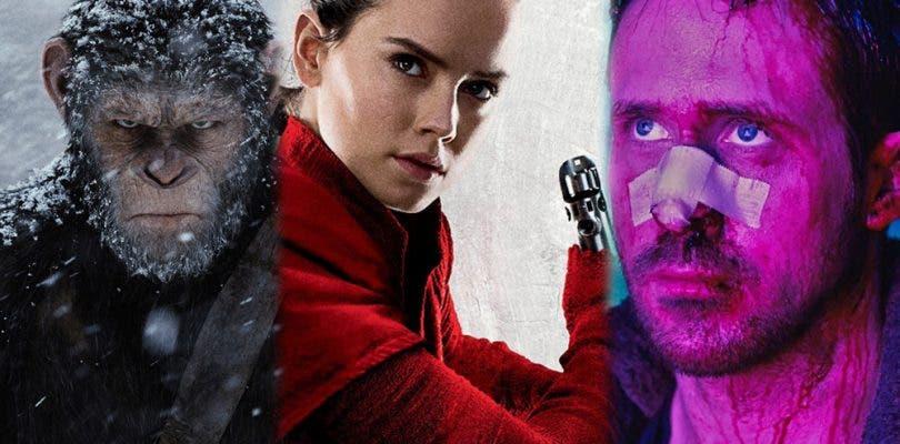 Star Wars: Los Últimos Jedi lidera el top de ciencia ficción de 2017 en Rotten Tomatoes