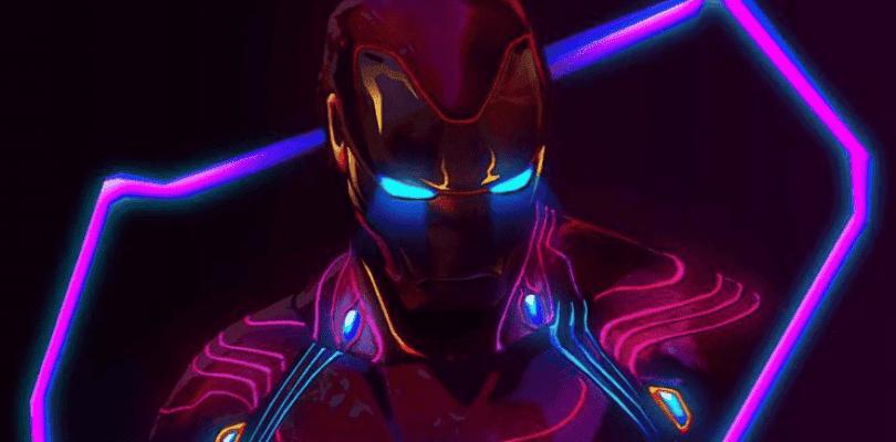 Así son los pósteres de Vengadores: Infinity War al estilo cyberpunk