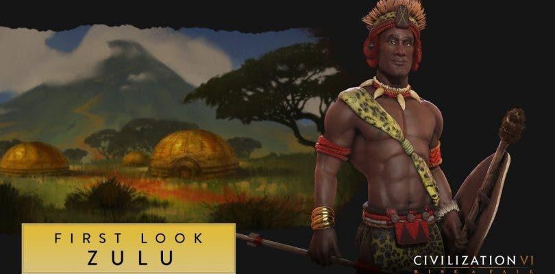 Los Zulu protagonizan el último tráiler de Civilization VI: Rise and Fall
