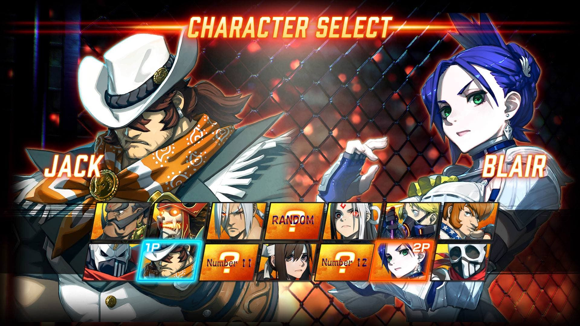 Fighting EX Layer -1 personajes