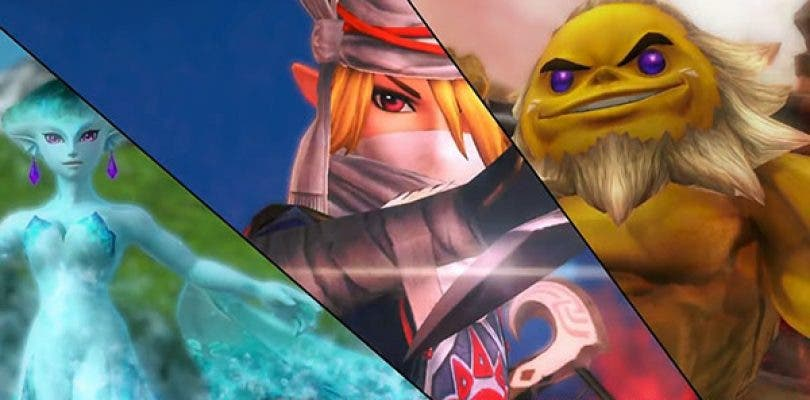 Los personajes de Hyrule Warriors: Definitive Edition se lucen en vídeo