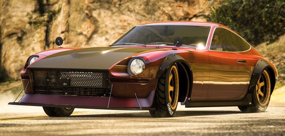 Imagen de GTA Online recibe el deportivo clásico Karin 190Z