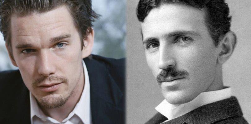 Ethan Hawke protagonizará el nuevo biopic sobre Nikola Tesla