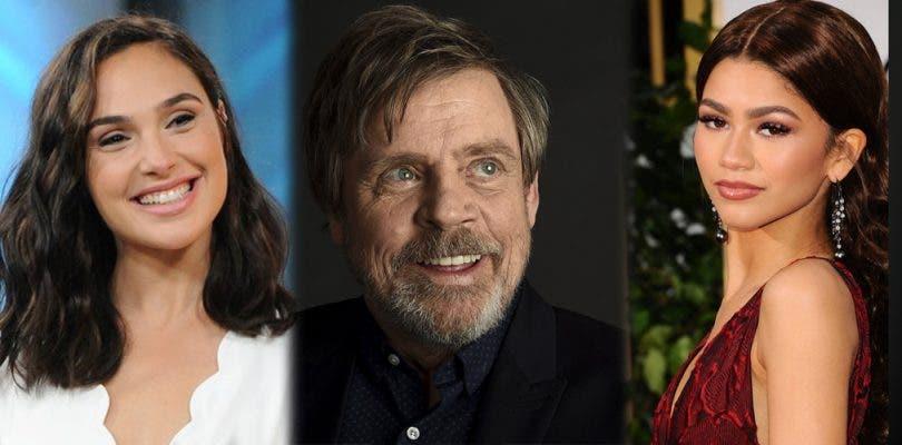 Gal Gadot, Mark Hamill y Zendaya también serán presentadores de los Oscar