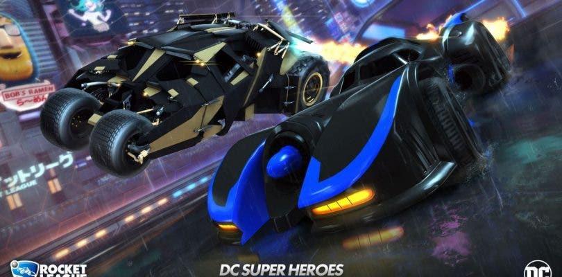 El clásico Batmóvil y otros objetos del universo DC llegarán a Rocket League