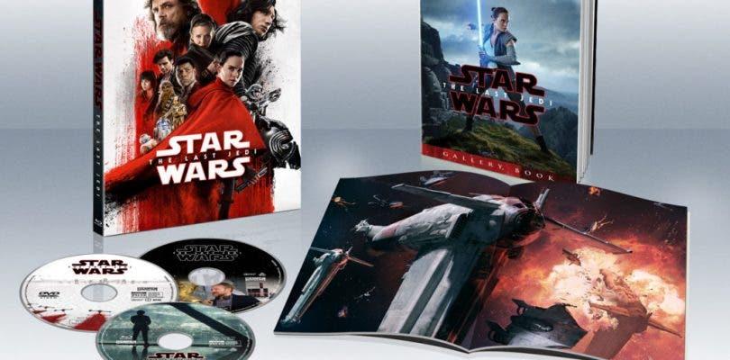 Star Wars: Los Últimos Jedi llegará en Blu-ray el próximo 18 de abril
