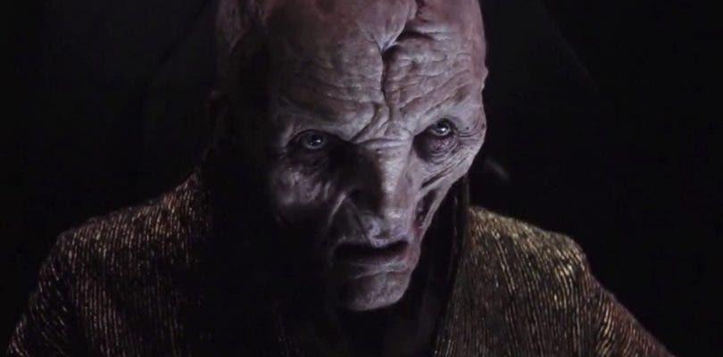 Así fue cómo Snoke llegó al poder en la nueva trilogía de Star Wars