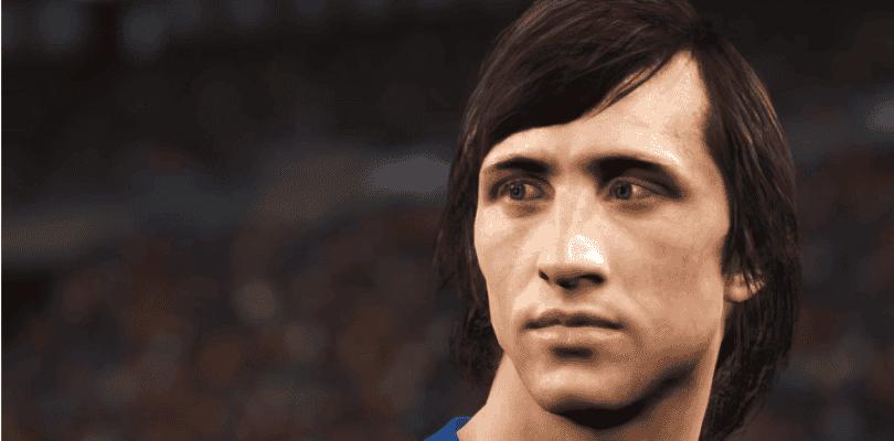 Johan Cruyff es la nueva Leyenda de Pro Evolution Soccer 2018