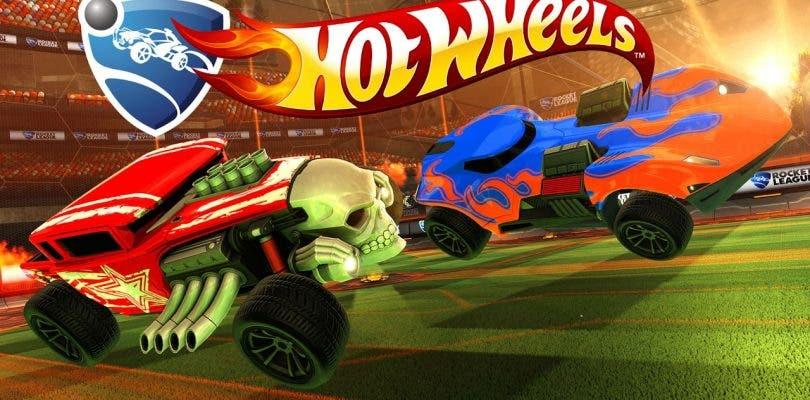 Rocket League podrá jugarse en la vida real gracias a Hot Wheels