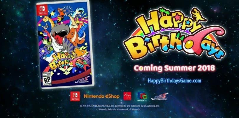 Se confirma el lanzamiento de Happy Birthdays en Occidente