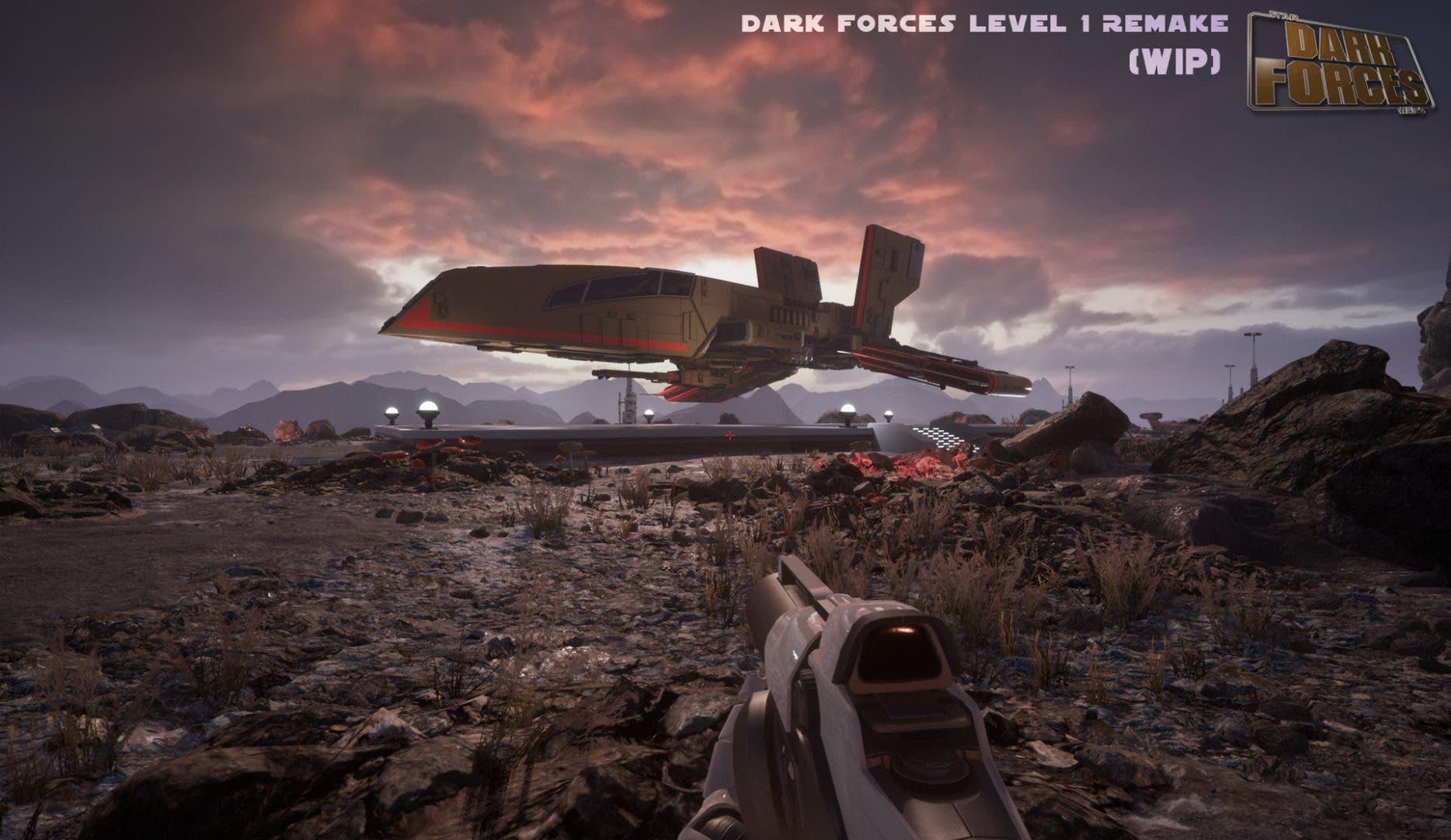 Imagen de Trabajadores de Obsidian trabajan en un fan remake de Star Wars: Dark Forces
