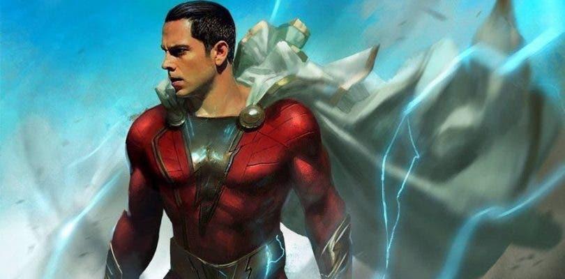 Se filtra la primera imagen de Zachary Levi con el traje de Shazam!