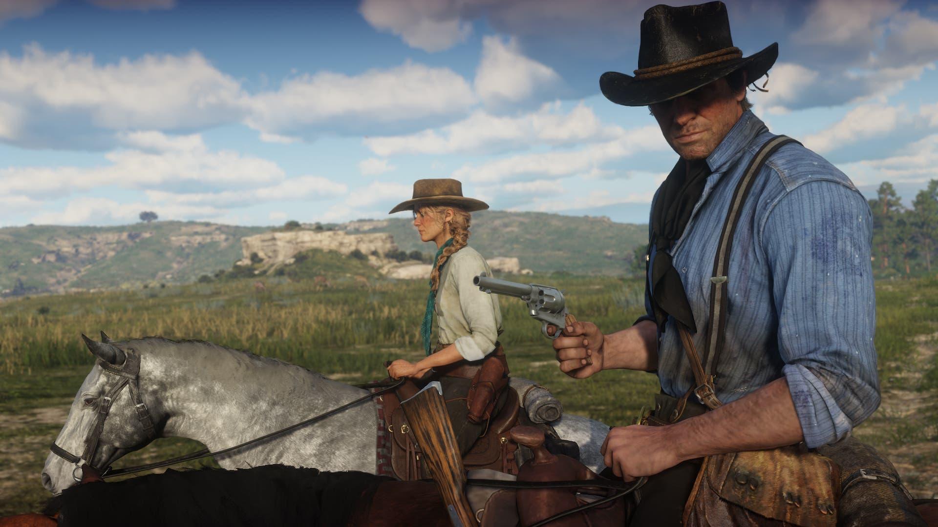 Imagen de Hoy sale Red Dead Redemption 2 en PC y estos son sus mayores logros hasta hoy