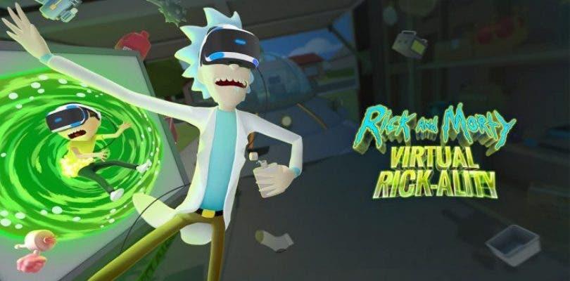 Rick and Morty: Virtual Rick-ality llegará en abril a PlayStation VR