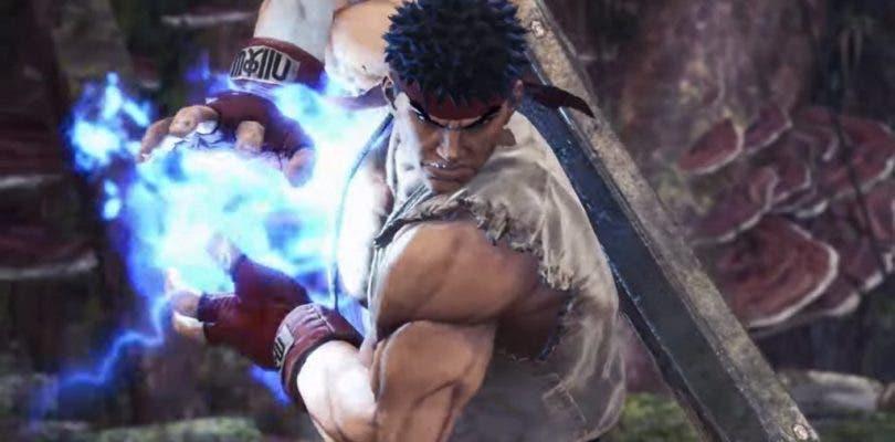 Vemos la armadura de Ryu de Street Fighter V en Monster Hunter: World