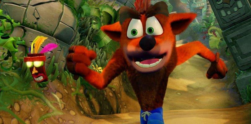 Así luce Crash Bandicoot N. Sane Trilogy en Nintendo Switch