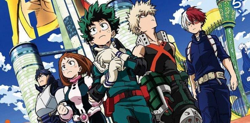 La nueva película de My Hero Academia se luce en un espectacular póster
