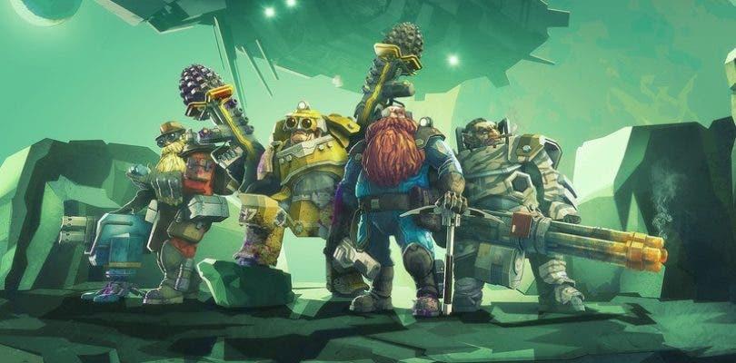 Deep Rock Galactic ya está disponible para PC y Xbox One