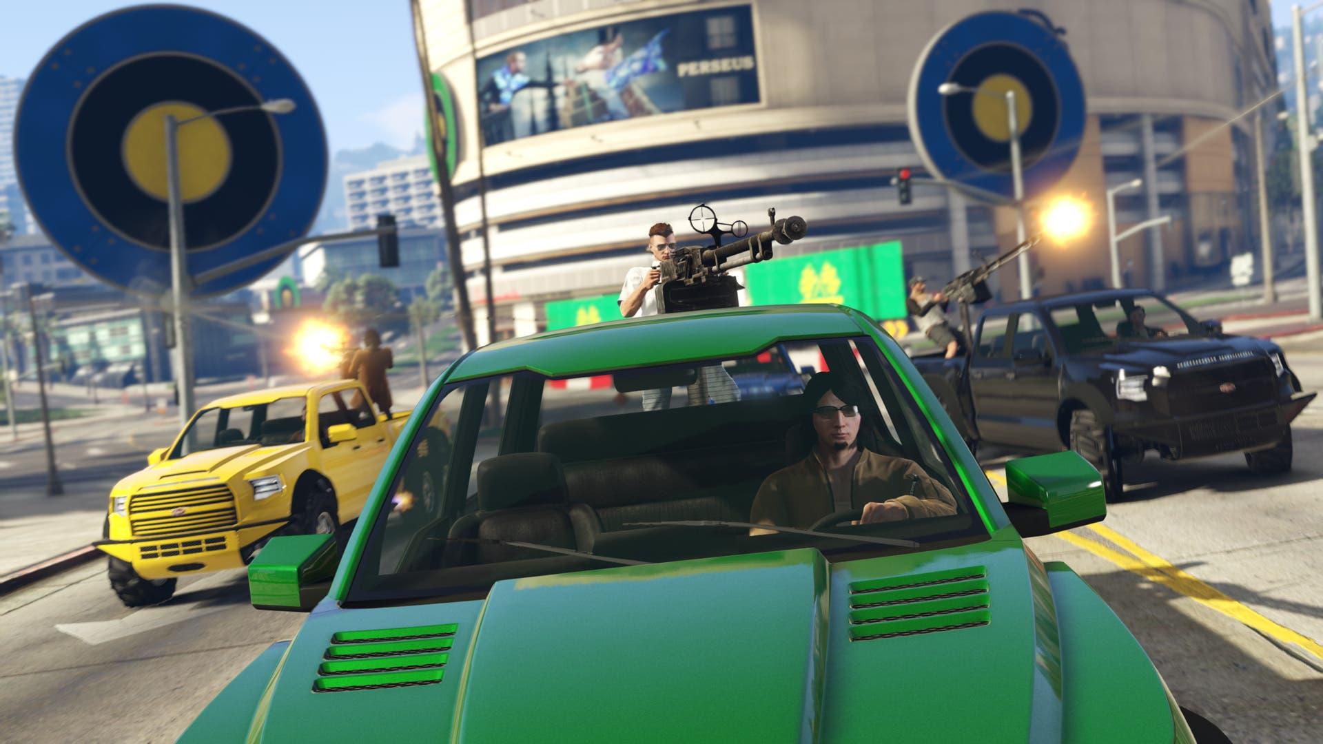 Imagen de Las carreras Target Assault y la camioneta Vapid Caracara llegan a GTA Online