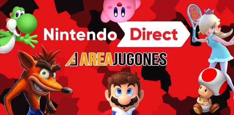 Resumen de todo lo acontecido durante el Nintendo Direct