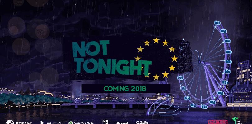 El juego de rol Not Tonight llegará este año a PC y consolas