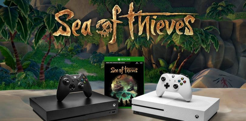 Sea of Thieves gratis con la compra de una Xbox One X