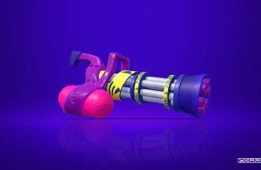 La Tintralladora ligera B ya se encuentra disponible en Splatoon 2