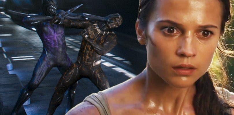 Black Panther derrota a Tomb Raider durante su estreno en Estados Unidos