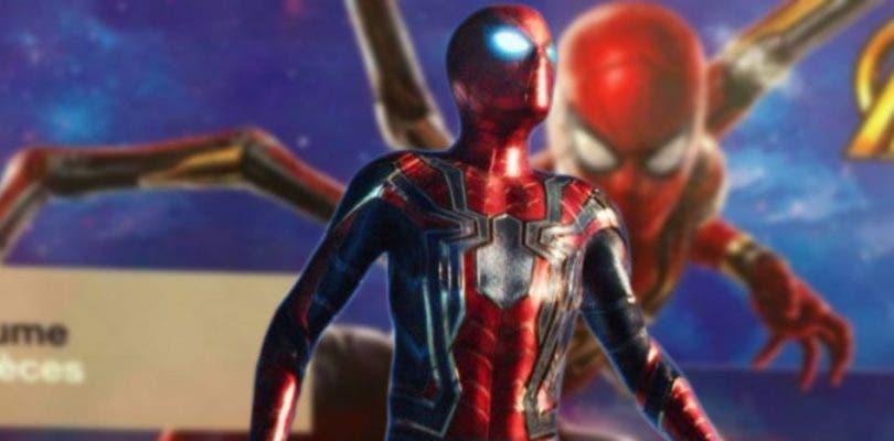 Primer vistazo al nuevo Iron Spider de Vengadores: Infinity War