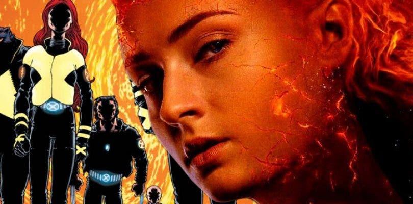 Primera fotografía de los nuevos trajes del equipo en X-Men: Dark Phoenix
