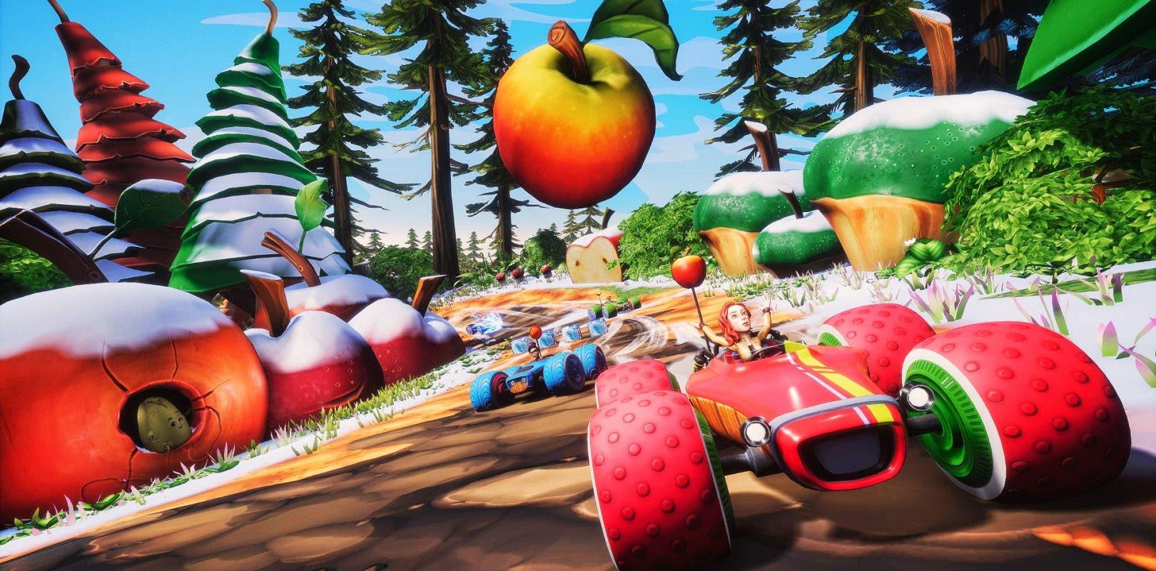 Resultado de imagen de all star fruit racing sinopsis