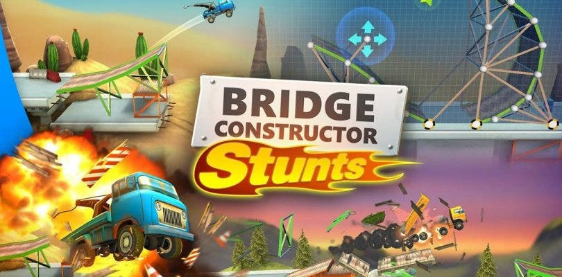 Bridge Constructor Stunts ya tiene fecha de lanzamiento en PlayStation 4