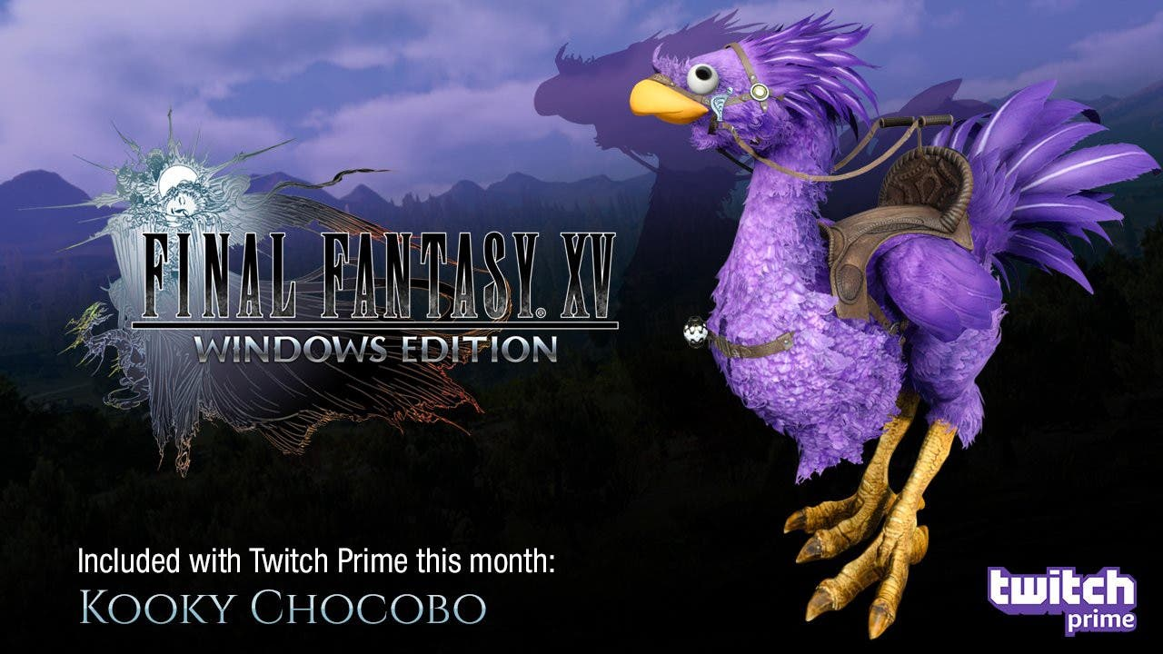 final fantasy xv twitch prime