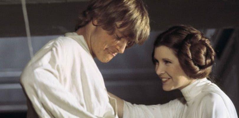 Mark Hamill es incapaz de ver su última escena con Carrie Fisher en Star Wars
