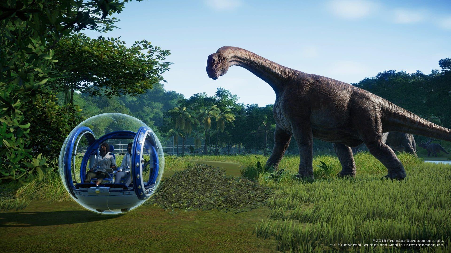 Imagen de Jurassic World Evolution recibirá su actualización 1.6 en los próximos días