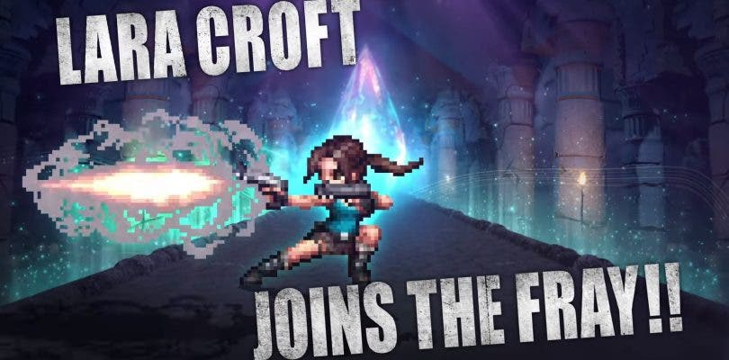 lara croft final fantasy: brave exvius