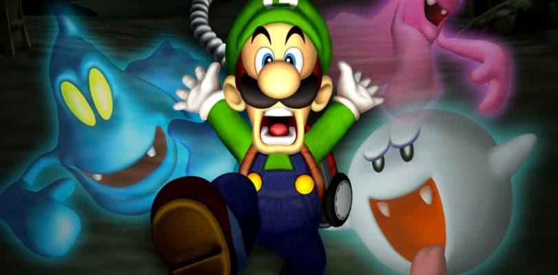 Se muestran nuevas imágenes del remake de Luigi's Mansion