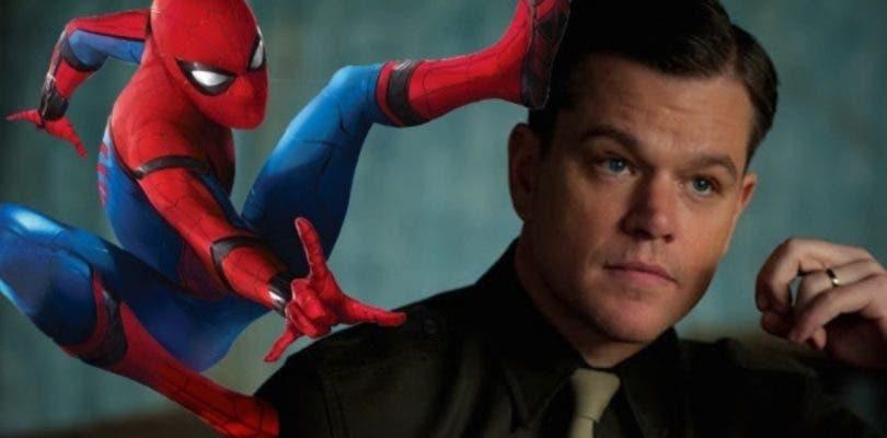 Matt Damon habría rechazado ser el villano de Spider-Man: Homecoming 2
