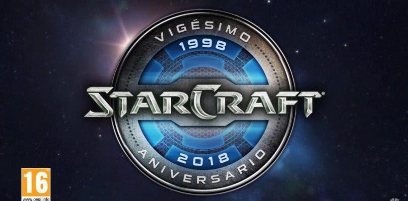 Blizzard celebra con regalos el 20º aniversario de StarCraft