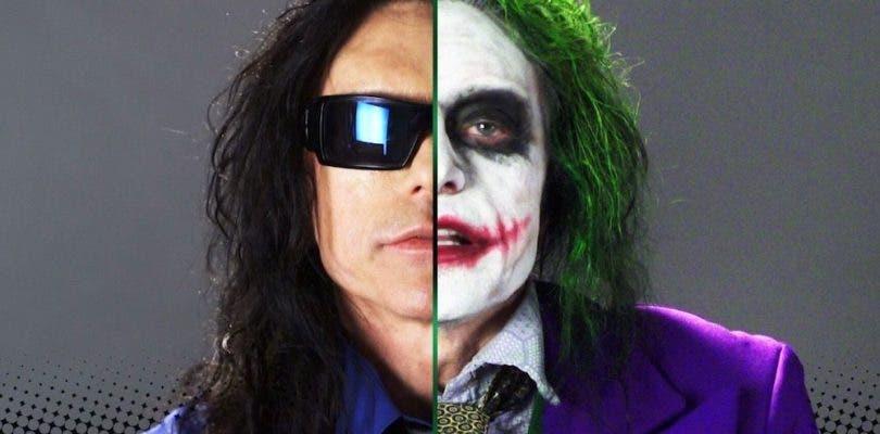 Tommy Wiseau muestra su divertida audición interpretando a El Joker