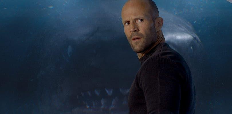 Primer tráiler de Megalodón: Jason Statham se merienda a un tiburón