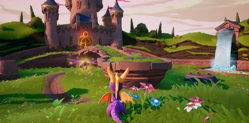 Finalmente Spyro Reignited Trilogy necesitará la descarga de partes de contenido