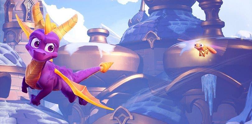 Spyro Reignited Trilogy muestra su portada en la que se ven algunos enemigos por primera vez