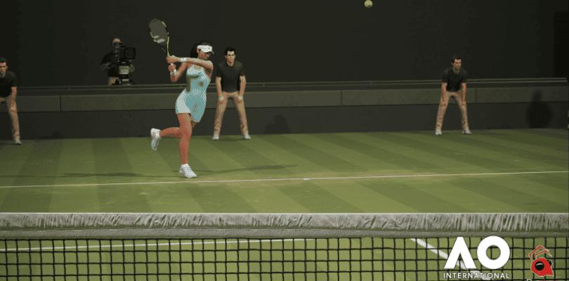 AO International Tennis ya tiene fecha de lanzamiento