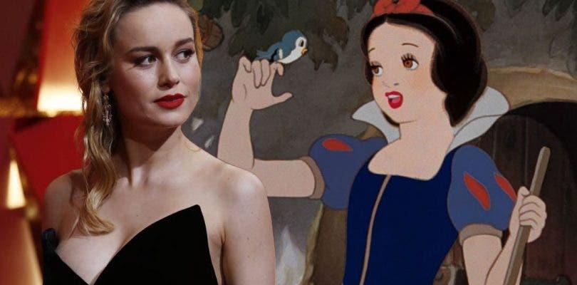 Disney podría estar tras Brie Larson para un spin-off de Blancanieves