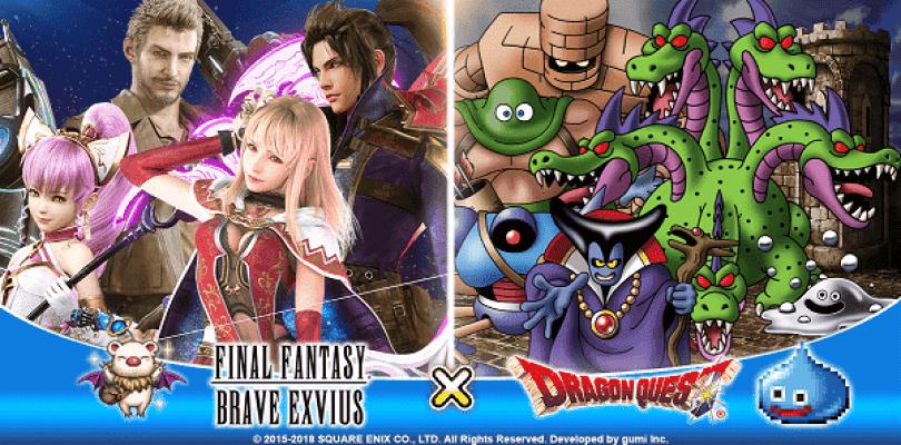 La colaboración entre Dragon Quest y FF: Brave Exvius comienza hoy