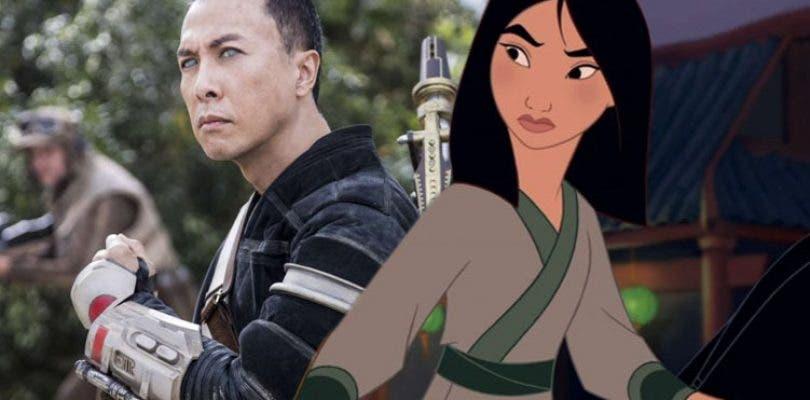 Disney se hace con Donnie Yen para el remake live-action de Mulán